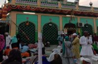 Relief from disease is found in this shrine, people are trapped in lockdown