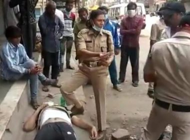 The elderly were going to the market, suddenly collapsed, then this police officer came as Farishta